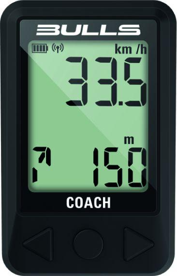BULLS Fahrradcomputer Coach GPS