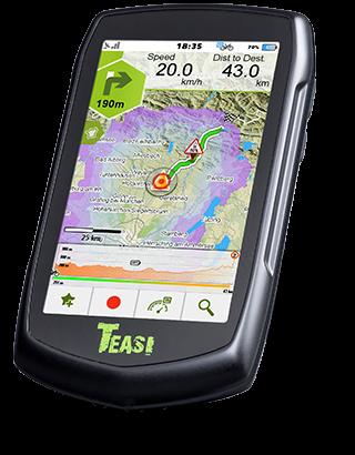 TEASI Navigationsgerät TEASI VOLT